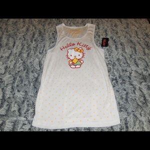 Hot Topic Hello Kitty Ribbed Tank Top XL